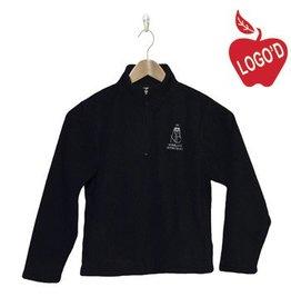 Elder Navy Blue Half Zip Microfleece Jacket #1000