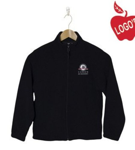 Elder Navy Blue Full Zip Microfleece Jacket #1001