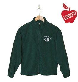 Elder Green Full Zip Microfleece Jacket #1001