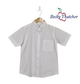 Elder Short Sleeve Oxford Blouse #5515