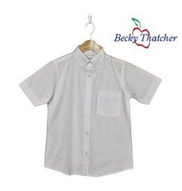 0ae062ba Elder Short Sleeve Oxford Blouse #5515