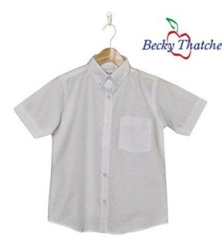 Elder Short Sleeve Oxford Blouse #5515