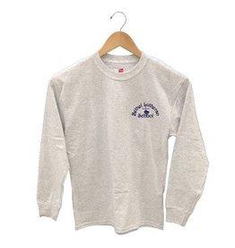 Port Authority Ash Grey Short Sleeve Tee #5450