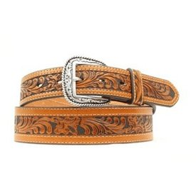 Ariat Men's Floral Inlay Western Belt