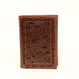Nocona Belt Co. Men's Nocona Tri-Fold Wallet N500002208