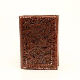 Nocona Belt Co. Men's Nocona Tri-Fold Wallet N500002208