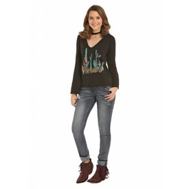 Rock and Roll Cowgirl Women's Rock & Roll Cowgirl T-Shirt 48T8301