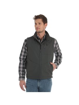 Wrangler Men's Wrangler Conceal Carry Trail Vest MJK18CH