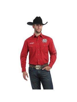 Wrangler Men's Wrangler Logo Snap Front Shirt MHS225M