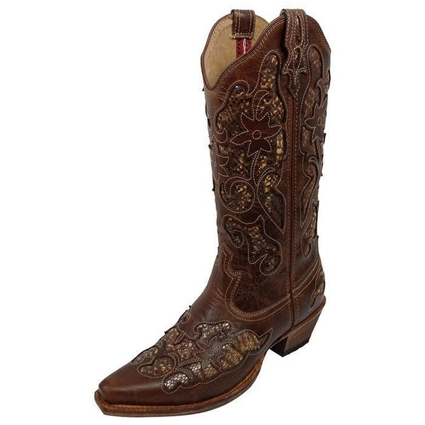 30dfba53ae1 Women's Twisted X Steppin' Out Boot WSO0001 C5 7 B by Twisted X