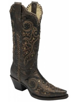 Corral Women's Corral Western Boot R1217 C4 6.5 M