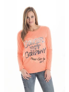 Cowgirl Tuff Women's Cowgirl Tuff T-Shirt F00256