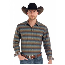 Panhandle Men's Rough Stock Snap Front Shirt R0S8411
