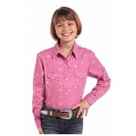 Panhandle Girl's Panhandle Snap Front Shirt C6S8252