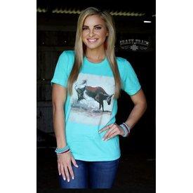Crazy Train Women's Heel of a Catch T-Shirt Size XL