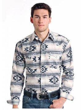 Panhandle Men's Rough Stock Snap Front Shirt R0S8402