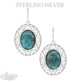 Montana Silversmiths Montana Silversmiths Sterling Lane Earrings SLER018