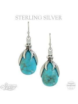 Montana Silversmiths Montana Silversmiths Sterling Lane Earrings SLKTER2801