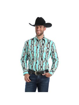 Wrangler Men's Wrangler Checotah Snap Front Shirt MC1238M