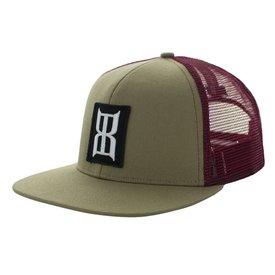BEX Men's Maroon Ninyr Cap