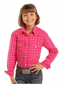 Panhandle Girl's Panhandle Snap Front Shirt C6S7174
