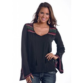 Rock and Roll Cowgirl Women's Rock & Roll Cowgirl Blouse B4-5369 C6