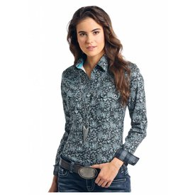 Panhandle Women's Rough Stock Snap Front Shirt R4S8404