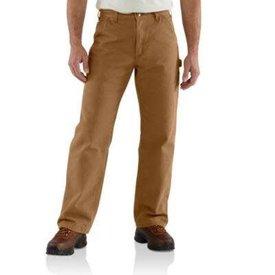 Carhartt Men's Carhartt Dungaree Flannel Lined Work Pant B111 BRN