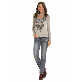 Rock and Roll Cowgirl Women's Rock & Roll Cowgirl Blouse 48T8310