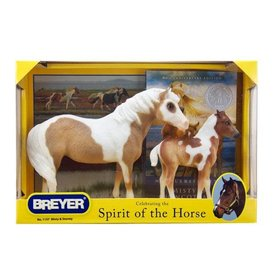 Breyer Horses Misty & Stormy - Models and Book Set
