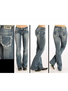 Rock and Roll Cowgirl Women's Rock & Roll Cowgirl Jean W1-4503 C5 25 34
