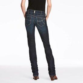 Ariat Women's Ariat R.E.A.L. Mid-Rise Straight Splash Jean 10026024