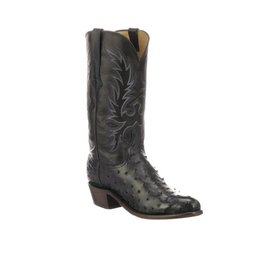 Lucchese Men's Navy Blue Elgin Boot C3