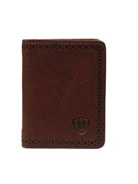 M&F Men's Ariat Bi-Fold Flip Case Wallet A35128283