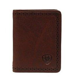 Ariat Men's Bi-Fold Flip Case Wallet