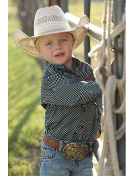 Cinch Toddler Boy's Cinch Button Down Shirt MTW7061186