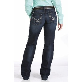 Cinch Women's Cinch Bailey Relaxed Straight Leg Jean Size 15R