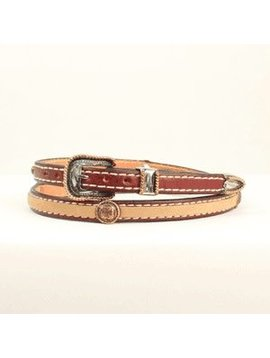 M&F M&F Leather Hatband 0200508