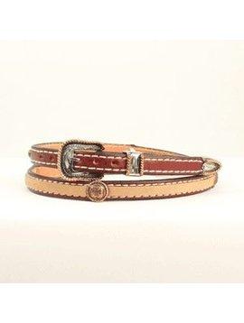 M&F M&F Leather Hatband 0200508