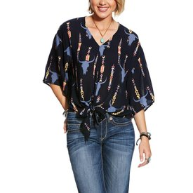 Ariat Women's Ariat Mai Tie Blouse 10025849