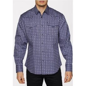 Rodeo Clothing Co. Men's Rodeo Clothing Snap Front Shirt PS100L-150