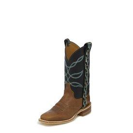 Justin Women's Kenedy Tan Ribbon Boot