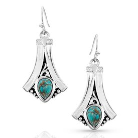 Montana Silversmiths Montana Silversmith Earrings ER3925TQ