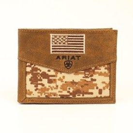 Ariat Men's Ariat Bi-Fold Pass Case Wallet A3536844