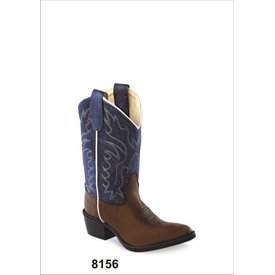 Old West Children's Old West Western Boot 8156 C5 9.5 M
