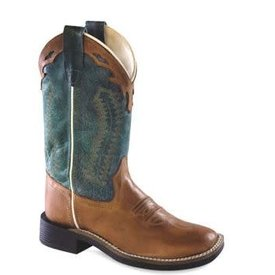 Old West Youth's Old West Western Boot BSY1872 (3.5Y-7Y)