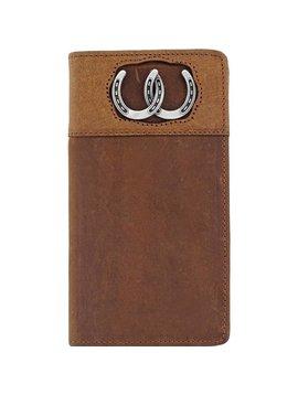 Silver Creek Men's Silver Creek Checkbook Wallet E80299