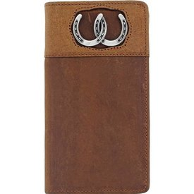 Silver Creek Men's Silver Creek Checkbook Wallet E80299