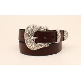 Ariat Women's Classic 3 Piece Buckle Western Belt