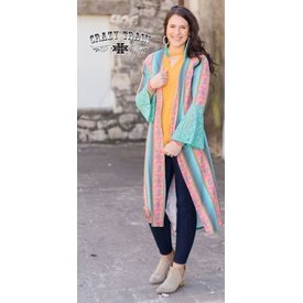 Crazy Train Women's Crazy Train Vera Cruz Duster